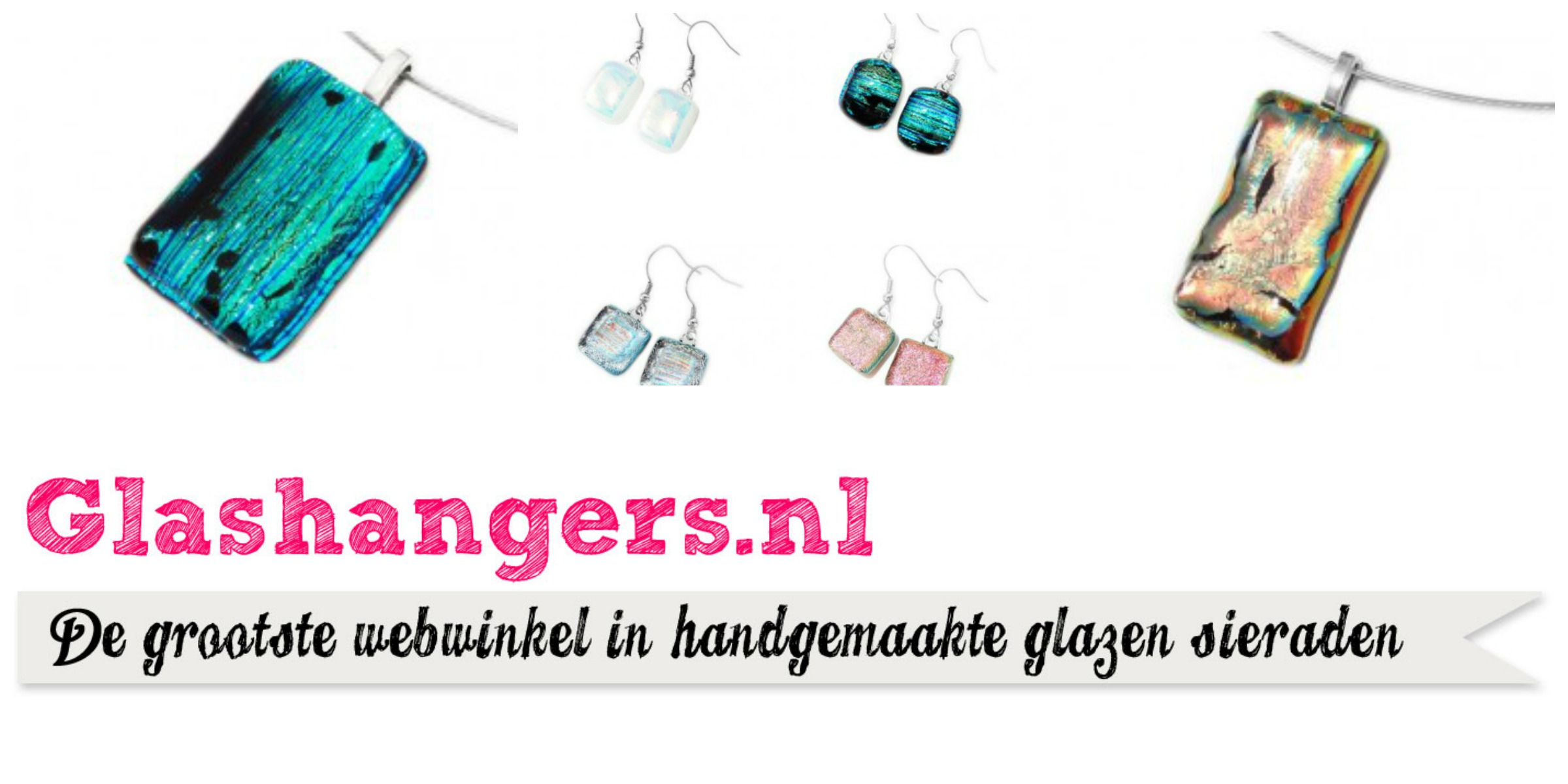 Leuke sieraden van Glashangers.nl: win €25 shoptegoed! (gesloten)
