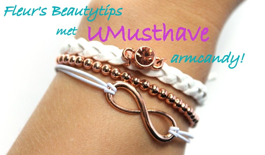 UMustHave: Leuke sieraden & accessoires webshop! (review armcandy)