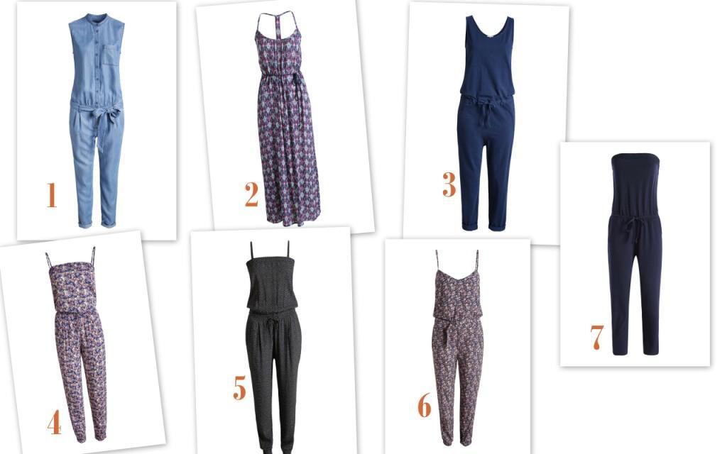 Esprit jumpsuits collage