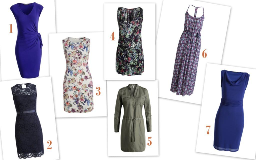Esprit zomer jurken collage