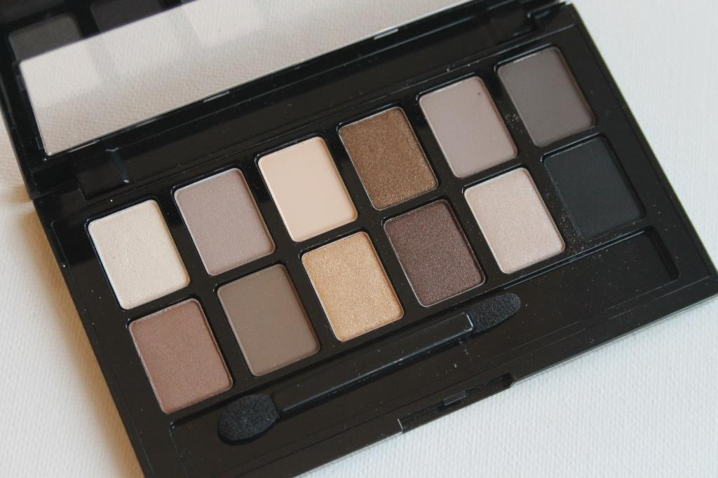 Review Maybelline The Nudes palette