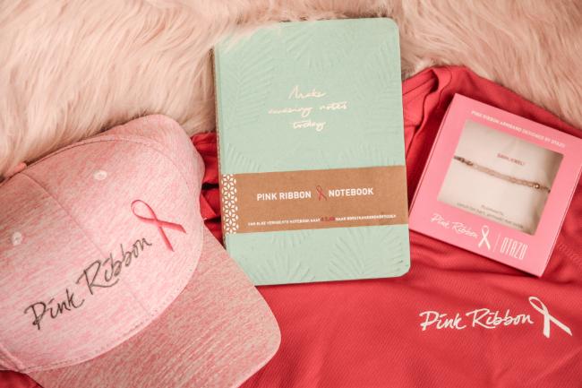 Pink Ribbon merchandise voorjaar 2020