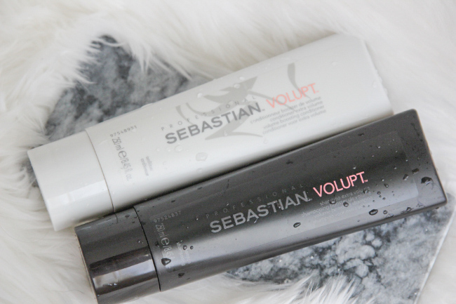 Review Sebastian Volupt shampoo & conditioner