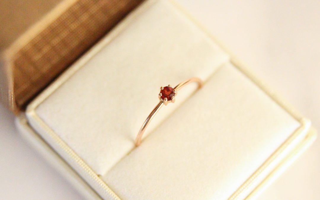 Gouden edelsteen ring Mostert Juweliers